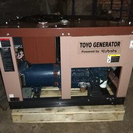 Электрогенераторы и станции - Дизельгенератор  TOYO TG-12SPC, 0
