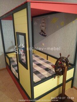 Кроватки - Кровать домик с окошком, 0