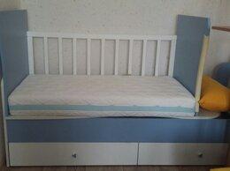 Кроватки - Детская кроватка-трансформер с матрасом, 0