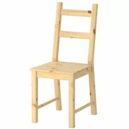 Стулья, табуретки - Стул Икеа Ikea дерево Гренобль с подушкой, 0