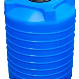 Баки - Пластиковая емкость объемом 1000 литра. Вертикальная., 0