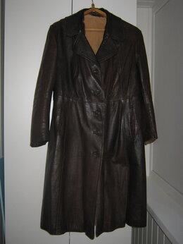 Пальто - Пальто кожаное с натуральной подстежкой из…, 0