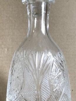 Шейкеры и бутылки - Графин хрустальный времен СССР , 0