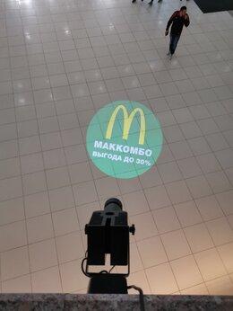 Рекламные конструкции и материалы - Наружная реклама гобо проектор , 0