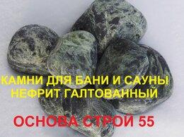 Камни для печей - Камни для бани и сауны НЕФРИТ ШЛИФОВАННЫЙ., 0
