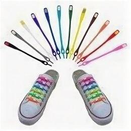 Стельки и шнурки - Шнурки силиконовые разноцветные, 0