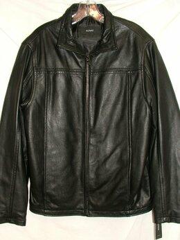Куртки - Куртка кожаная Alfani Macys (46-48), 0