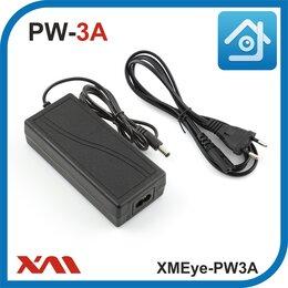 Блоки питания - Импульсный блок питания для камер видеонаблюдения 12 Вольт. 3 Ампера., 0