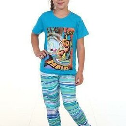 Домашняя одежда - ПИЖАМА ДЕТСКАЯ 7-94 размер 34 на  8-9 лет, 0