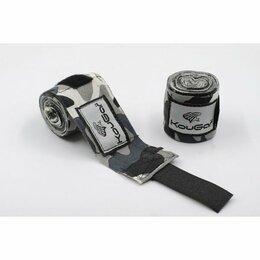 Аксессуары и принадлежности - Бинт боксерский KOUGAR K600, 3,5м, эластичный…, 0