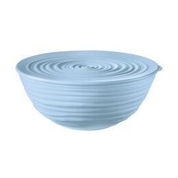 Блюда, салатники и соусники - Миска пластиковая с крышкой голубая 18 см Tierra  , 0
