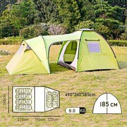Палатки - Кемпинговая палатка для 6 человек НЕ ДОРОГО, 0