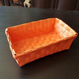 Корзины, коробки и контейнеры - Плетеная корзиночка для мелочей, 0