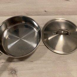 Сковороды и сотейники - Сковорода с крышкой, 0