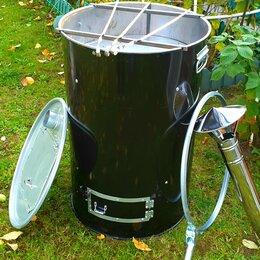 Бочки - Бочка для сжигания садового мусора+мангал, 0