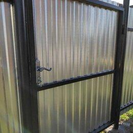 Заборы, ворота и элементы - Ворота распашные, Ворота с калиткой, Каркас ворот, 0