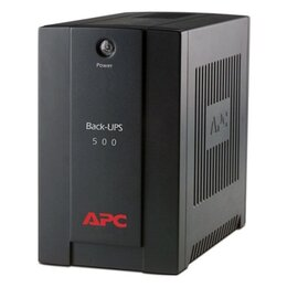 Источники бесперебойного питания, сетевые фильтры - бесперебойник ИБП APC Back-UPS BX500, 0