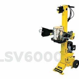 Дровоколы - Дровокол CHAMPION LSV6000 (2,7кВт 6тонн 97кг,+насадка для колки дров на 4 части), 0