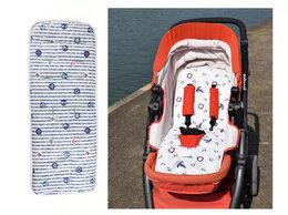 Аксессуары для колясок и автокресел - Новый хлопковый матрасик в коляску (белый,…, 0