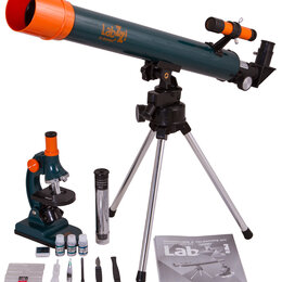 Телескопы - Набор Levenhuk LabZZ MT2: микроскоп и телескоп, 0