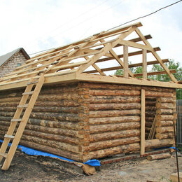 Готовые строения - Сруб бани 6х4 с пиломатериалом и установкой, 0