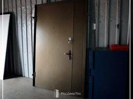 Входные двери - Тамбурная дверь металлическая входная под размер, 0