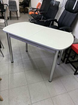 Столы и столики - Стол кухонный раскладной Ода 2 беж, 0