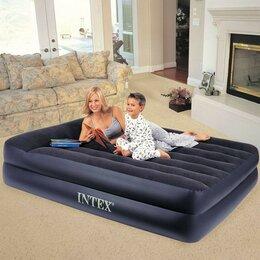 Надувная мебель - Матрас надувной с электронным насосом, 0