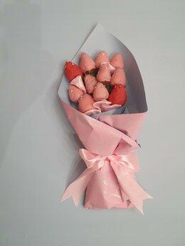 Цветы, букеты, композиции - Съедобный букет клубника в шоколаде , 0