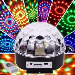 Ночники и декоративные светильники - Диско-шар 24 светодиода USB с моторчиком, 0