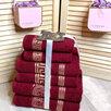 """Комплект из 6ти махровых полотенец """"Versace"""" по цене 1890₽ - Полотенца, фото 1"""