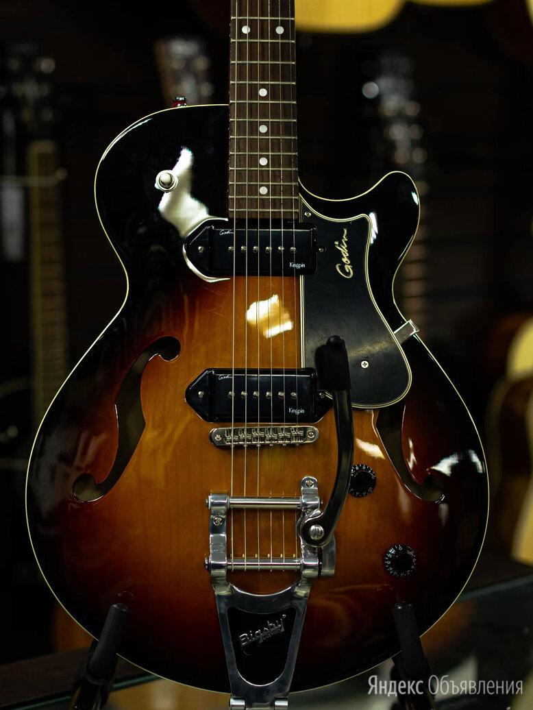 Электрогитара полуакустическая Godin Montreal Premiere Sunburst HG P90 w/Bigsby по цене 96000₽ - Электрогитары и бас-гитары, фото 0