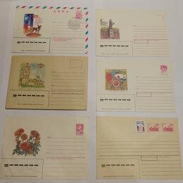 Конверты и почтовые карточки - Почтовые конверты, СССР, 1980 и 90-е годы, 0