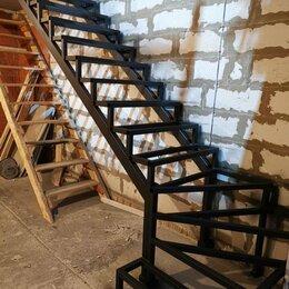 Лестницы и элементы лестниц - лестницы металлические, каркасы, металлоконструкции, навесы, решетки, ограждения, 0