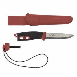 Аксессуары и комплектующие - Нож Morakniv Companion Spark Red, нержавеющая сталь, 13571, 0