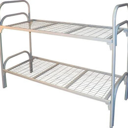 Кровати - Кровати металлические двухъярусные оптом, 0
