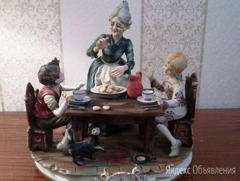 "Статуэтка Каподимонте ""Бабушкино печенье"" по цене 29500₽ - Статуэтки и фигурки, фото 0"