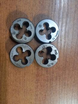 Плашки и метчики - Плашка круглая М 10*0,75 (Росс) Гост9740, 0