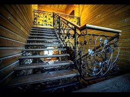 Лестницы и элементы лестниц - Кованные ступеньки и перила, 0