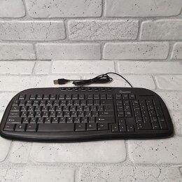 Клавиатуры - Клавиатура проводная мультимедийная USB 205 …, 0