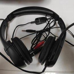 Компьютерные гарнитуры - Наушники с микрофоном Plantronics A355, 0