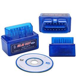 Зарядные устройства и адаптеры - Адаптер ELM327 Bluetooth версия 1.5, 0