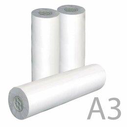 Комплектующие для плоттеров - Рулон для плоттера, 297 мм х 175 м х втулка 76 мм, 80 г/м2, белизна CIE 162%,..., 0