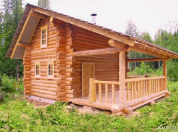 Готовые строения - Сруб 6*4 метра с выносами 3-метра., 0