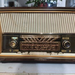 Усилители и ресиверы - ламповое немецкое радио, 0