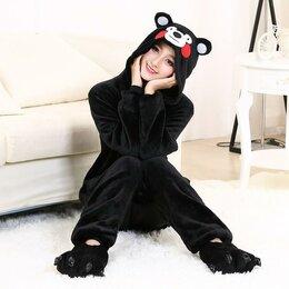 Кигуруми - Кигуруми костюм черный медведь Кумамон (…, 0
