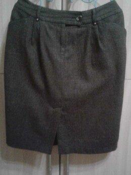 Юбки - Драповая юбка., 0