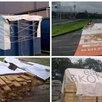 Баннеры б/у - для хоз.нужд (НЕ ПРОПУСКАЕТ ВОДУ) по цене 400₽ - Тенты строительные, фото 1