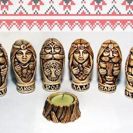 Статуэтки и фигурки - Чуры, кумиры, обереги славянских Богов - 6 шт., 0