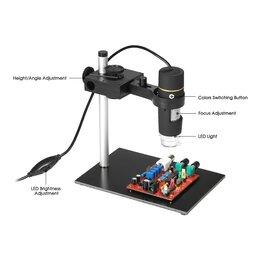 Микроскопы - Цифровой USB-микроскоп с функцией OTG, 0